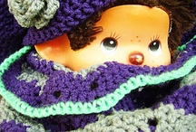 Heklet dukkeklær