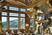 Dream Mountain Home / Someday... / by Heather Kemp
