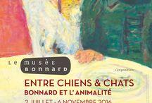 Expo, Entre Chiens & Chats, Bonnard et l'animalité