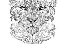 Leopard-tattoos