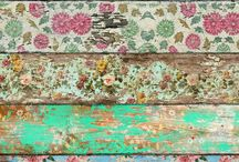 Furniture - decoupage/paint
