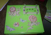 Scrap boek baukje  2006 / Hier mijn scrap boek voor mijn zus Baukje gemaakt tijdens de boerengolf ter ere aan Trijnie haar 50e verjaardag in Nov. 2006 het zijn helaas niet zo mooie foto's geworden.