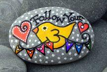 rock painting / stenen beschilderen