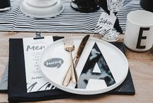 Schwarz & Weiß  Hochzeitsinspiration