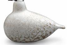 Finnish glass birds
