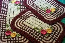 Cozinha de crochet