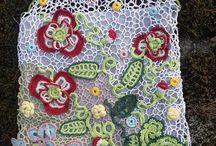 Irish lace / My favorite Irish crochet lace idea, handmade lace