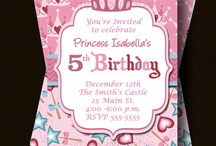 Birthday Party Ideas / by Julie Pike