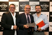 TOGETHER WE ROCK EVENT - OCTOBER 2013 / Another amazing event hosted by Hard Rock Cafe Barcelona to our VIP guests. DMCs, event agencies, important magazines, radios and many partners friends all together to celebrate this unique networking event in our private & exclusive The Platinum Room. Remember: We host events for Rock Stars! Barcelona_events@hardrock.com