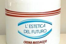 Cosmetici Corpo Estetica del Futuro / Provate in nostri prodotti esclusivi a base di oli e estratti vegetali per uso professionale e domiciliare. Li trovate nelle migliori estetiste, per info chiamateci al numero verde 800.587.332!