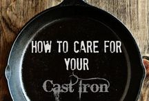 Cast iron skillets and more