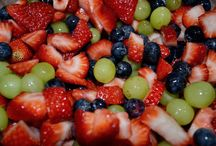 fruits/salads / by Lisa Evans