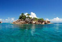 beach, islands