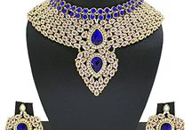 Latest Bollywood Inspired Wedding Bridal Necklace Set