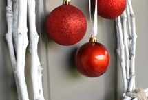 winter and Christmas decoration