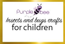 Insects and Bugs crafts for kids