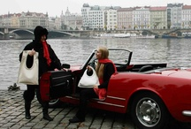handbags in the city