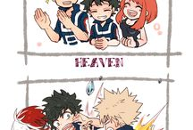 Boku no Hero Academia / An Academy filled people with powers !!!