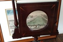 Georgian & Victorian parlour entertainment / Georgian Zograscope                                      Stereoscope Graphoscope viewer