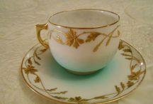 tasses porcelaine