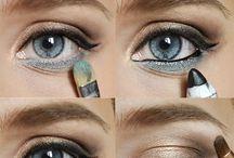 Ojos azules makeup