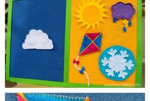 get crafty, kids! / fun craft projects to do with children or for children! / by Rebecca H