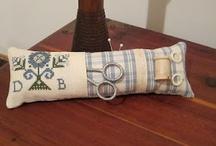Cross stitch finishs / by Sharon Cutbirth Hollenbeck Malenke