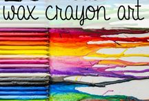 Crayon art / by Susan Smith