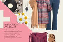 Collection Inspiration Années 70 |Printemps-été 2016