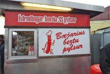 Anthropomorphic hot dogs / Anthropomorphic hot dogs