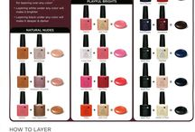CND shellac / Colours I want to try