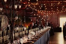 Romantic lights for the wedding   / Lighting accents, lanterns, votives, and candles