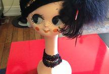 Mannequin hoofden