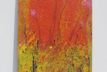 Pintura abstracta autor Frutos María / Pintura abstracta realizada por el autor Frutos María