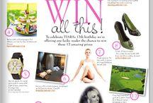 Tiara Magazine Competitions