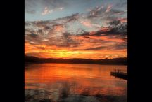 Sunsets on Dale Hollow Lake