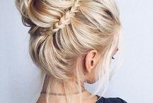 Hair bun style ideas