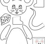Cut-paste crafts for kids(B&W template) / this page has a lot of cut paste crafts for preschool kids,parents and teacher
