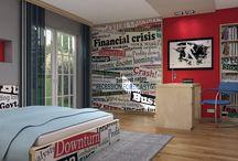 Naklejki na szafy (dekoracyjne okleiny meblowe) / Zmień swoją szafę w element dekoracyjny mieszkania