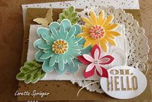 Flower patch stampinup