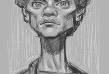 Caricatures / caricatures