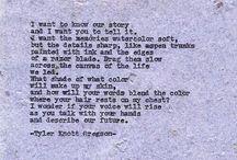 Poetry / by Paris Pray