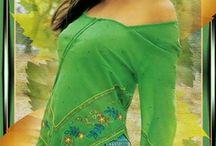 สาวเสื้อเขียว