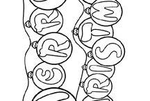 Chrismas doodles etc