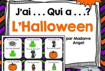 French classes - Halloween