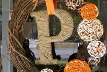 fall decor / by Brittany Bozarth