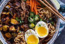 Recipe - Savory - East Asian / by Marie Pedersen