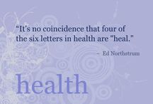 Inspirational Health Quotes / Quotes to keep you stay motivated to working towards a healthier you.