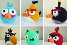 Crochet - amigurumi toys / by Angelique Fox