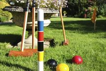 Giant Garden Games / Why not give your guests some entertainment during the day